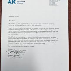 AJC letter